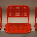 Перфорированные сиденья для трибун