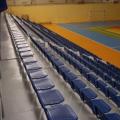 Перфорированные металлические стадионные сидения